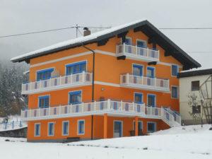 Winteransicht Haus Manuela